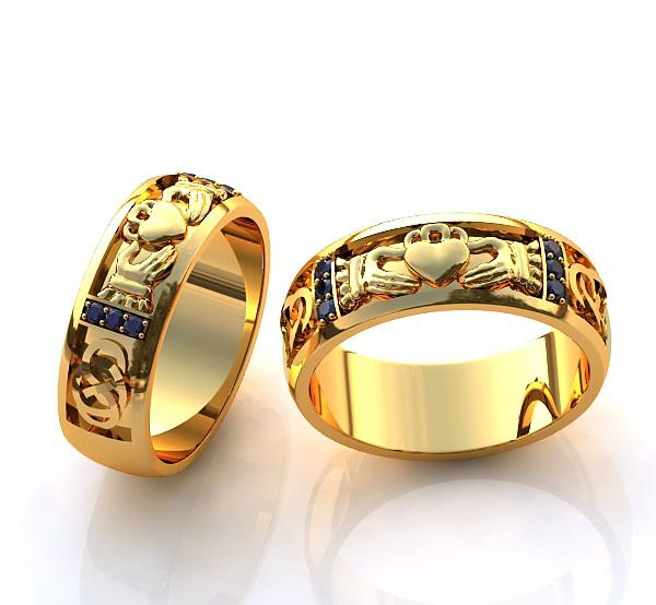 каталог обручальные кольца из желтого золота