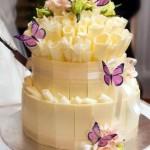 Укрась десерт бабочками