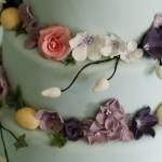 Цветы и марципана