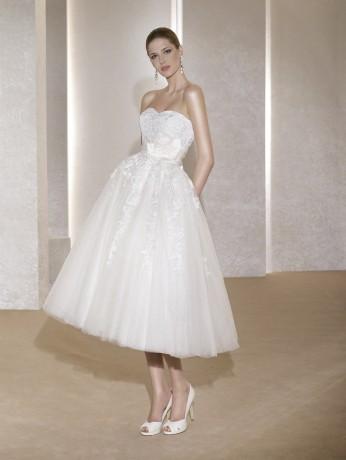 Короткое свадебное платье FARA SPOSA