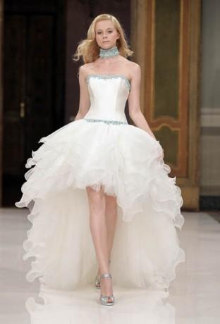 Изобр по > Необычное Свадебное Платье Короткое