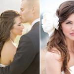 Образ невесты для летней свадьбы не может обойтись без цветочных свадебных аксессуаров