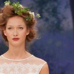 Настоящий сад на голове невесты