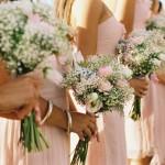 Романтичные букетики пастельных тонов выглядят просто восхитительно