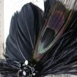 Перья - модный свадебный тренд