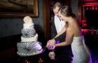 Свадебный торт с черепами