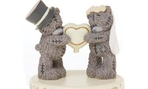 Оригинальные фигурки для свадебного торта
