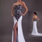 Разрез свадебного платья как обязательный элемент наряда