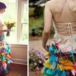 Все цвета радуги для свадебной церемонии
