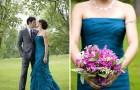 Свадебное платье в цвете