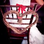 Символы любви даже на стульях
