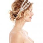 Для невесты с короткими волосами