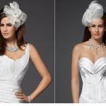 Оригинальные головные уборы для экстравагантной невесты
