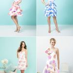 Цветастое свадебное платье - почему бы и нет?