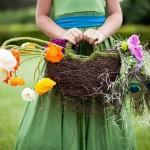 Для летней свадьбы на природе