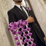 Свадебный букет как украшение на руку