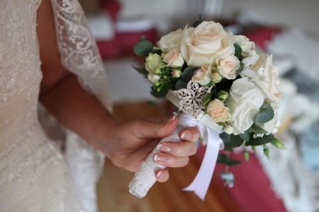 Букет невесты с драгоценностями
