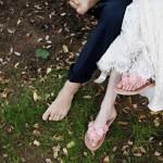 Босиком на свадьбу - оригинально