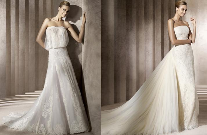 галереи элегантных свадебных платьев: