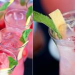 Клубника - самый лучший ингредиент для летнего коктейля