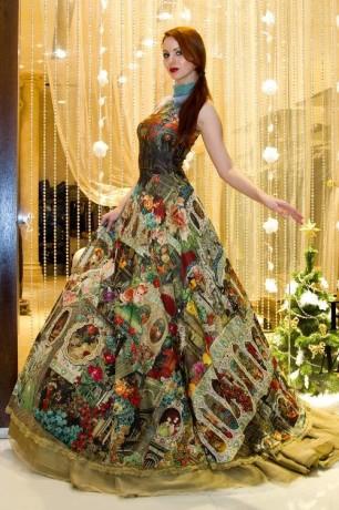 Необычное платье от Михаль Негрин