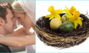 Свадебный тренд 2012 - птичье гнездо