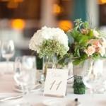 Белый и персиковый - идеально для свадьбы