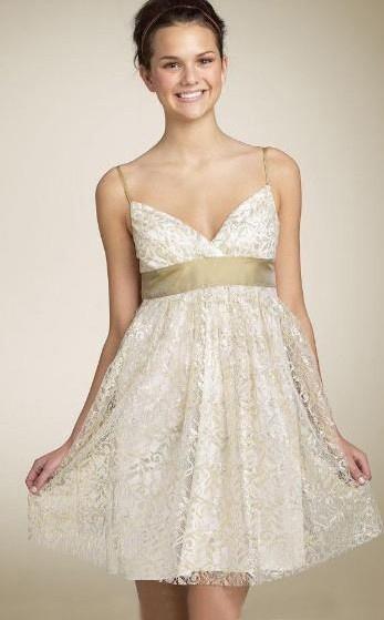 Короткие свадебные платья 一 новинка, на тоньких бретельках, без рукавов...