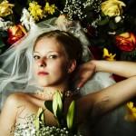 Идея для свадебной фотосессии - цветы