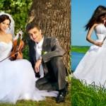 Жених, невеста и скрипка