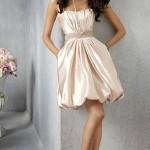 Шикарное короткое платье