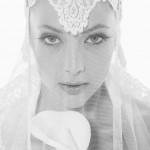 С такой фатой невеста будет выглядеть королевой бала
