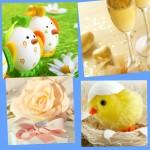 Свадебный декор с цыплятами