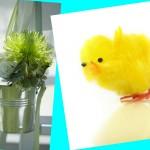 Цветы и цыпленок на свадьбе