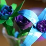 Синий и сиреневый великолепно сочетаются