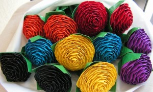 rainbow-wedding-color-palette-wedding-flower-alternatives-duct-tape-roses__full-carousel