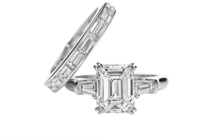 Оригинальное кольцо для свадьбы