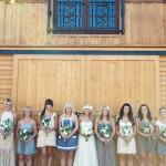 Подружки невесты, открываем ножки