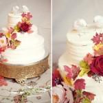 Розы - самое лучшее украшение свадебного торта