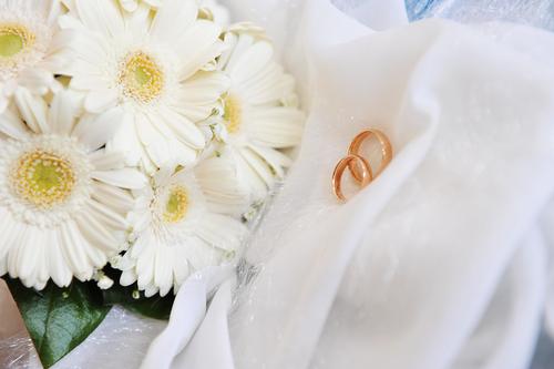 Ромашками свадебный букет из ромашек