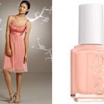 Персиковое платье - почему бы и нет?
