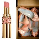 Даже туфельки должны быть в персиковой цветовой гамме