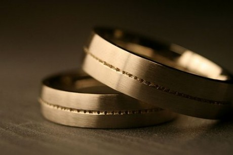 Фото с обручальными кольцами