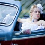 Ретро-автомобиль для свадьбы