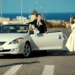 Мраморный шик свадебного авто