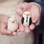 Милые птенчики-молодожены