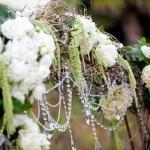 Свадьба украшенная первыми цветами