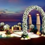 Ночная свадьба на берегу океана