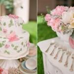 Светлые цветочные оттенки на свадьбе