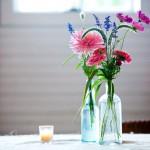 Украшение свадьбы полевыми цветами